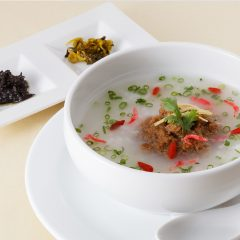 Taiwanese Style Rice Porridge (Beef Miso) /  600 yen