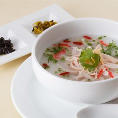 Taiwanese Style Rice Porridge (Chicken)  / 600 yen