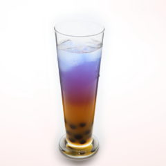蝶豆花茶(鳳梨菠蘿味)/¥600