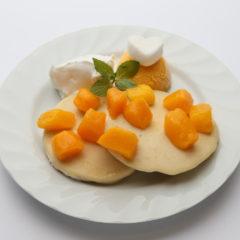 米粉のマンゴーパンケーキ /¥980
