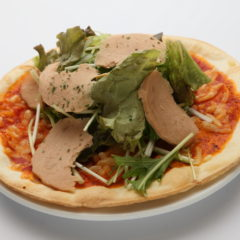 ヴィーガンハムのサラダピザ/¥1,480