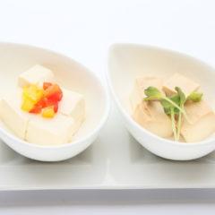 2種の豆腐チーズ/¥380